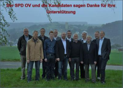 Foto zur Meldung: SPD - Ortsverein Burgschwalbach: Danksagung an die Wählerinnen und Wähler