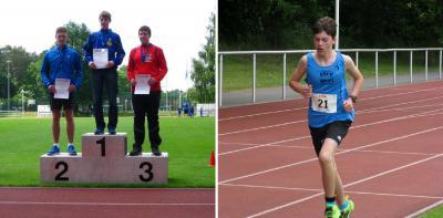 Foto zu Meldung: Landesmeisterschaften im Bahnlauf mit starkem SC Laage