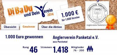 Foto zu Meldung: Abgestimmt und 1000 Euro gesichert!