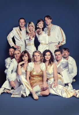 Foto zur Meldung: ABBA World Revival - die Komplettliveshow am 14. Juni auf der Waldbühne Hirschfeld