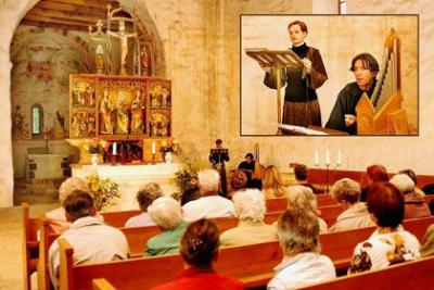 Vorschaubild zur Meldung: Riedebecker Kirche hat wertvollen Fußboden