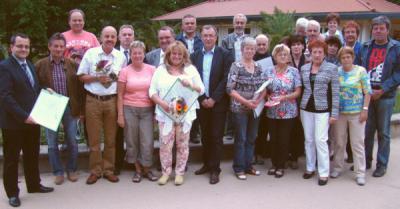 Foto zur Meldung: Verein Lausitzer Land wählt neuen Vorstand