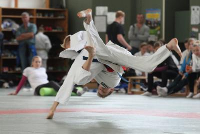 """Foto zur Meldung: Von Saldern-Gymnasium beim Judo-Landesfinale """"Jugend trainiert für Olympia"""""""