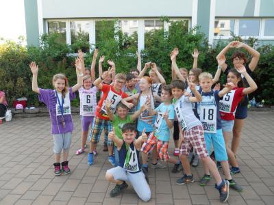 Foto zur Meldung: Fahrradprüfung Klasse 4