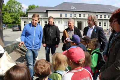 Foto zur Meldung: Vorschulmesse für Calauer Schulanfänger