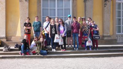 Foto zur Meldung: Schülerbesuch aus Opole (Polen)
