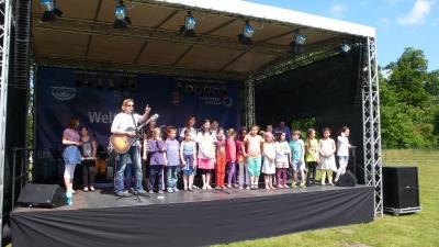 Foto zur Meldung: Kinderfest im UNESCO-Welterbe