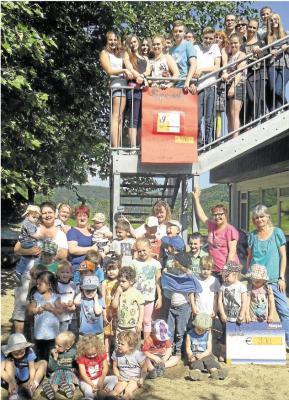 """Foto zur Meldung: Evangelische Kindertagesstätte """"SALTO VITALE"""": Schüler setzen sich für Kita Salto Vitale ein"""