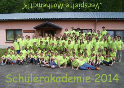 Foto zur Meldung: Schülerakademie des Landes Brandenburg 2014