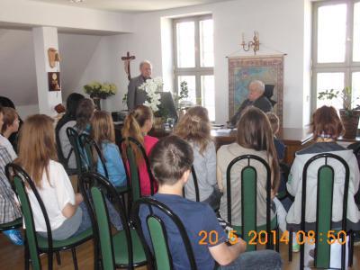 Foto zur Meldung: Jubiläumsfahrt in die Partnerschule nach Lebork/Polen