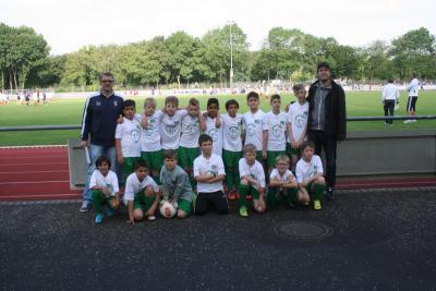 Foto zur Meldung: 4. Platz beim Fußballturnier der Kaarster Grundschulen!