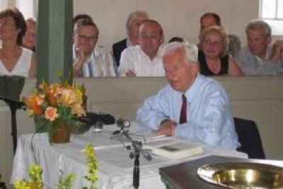 Altbundespräsident sorgt für volles Gotteshaus
