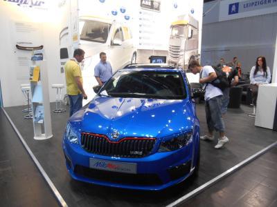 Foto zur Meldung: Besuch Automobilausstellung Leipzig