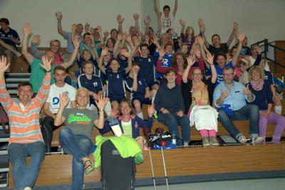 Foto zu Meldung: floorball: U13 belegt tollen 5. Platz bei Deutschen Meisterschaften in Bayern
