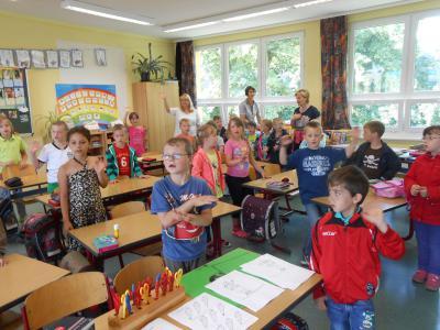 Foto zur Meldung: Schnuppertag zukünftige Einschüler