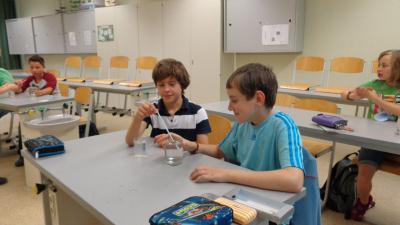 Foto zur Meldung: Experimente mit Wasser Nr.2