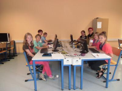 Foto zur Meldung: Schulreporter zum Wasserprojekt