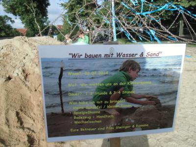 """Foto zur Meldung: """"Wir bauen mit Wasser und Sand"""""""