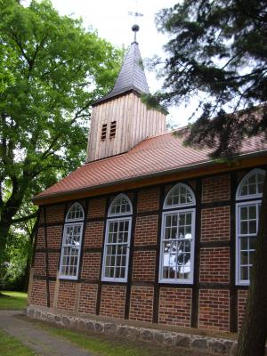 "Foto zu Meldung: ""Fester Stand - feste Feiern"" -  Wiedereinweihung der Kirche Zellendorf am 6. Juli"