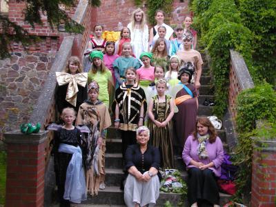 """Foto zur Meldung: """"Ein Sommernachtstraum"""" – eine Inszenierung von Grundschülern"""