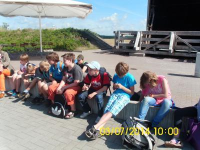 Foto zur Meldung: Besuch beim Gradierwerk