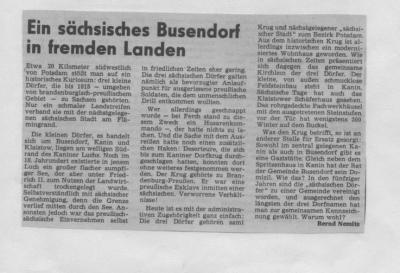 Foto zu Meldung: Ein sächsisches Busendorf in fremden Landen