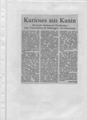 Foto zu Meldung: Kurioses aus Kanin