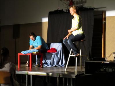 Foto zur Meldung: Theater Q-Rage: Grenzbereiche