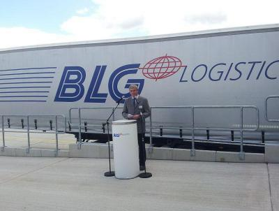 Foto zur Meldung: BLG-Logistikzentrum offiziell eingeweiht