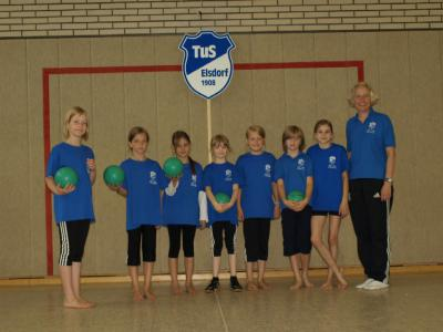 Foto zur Meldung: Kreis- Kinder Turn- u. Sportfest