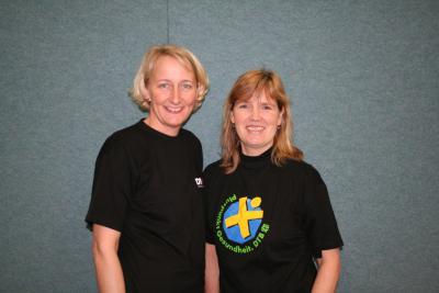 Foto zur Meldung: Zwei weitere Übungsleiterinnen ausgezeichnet