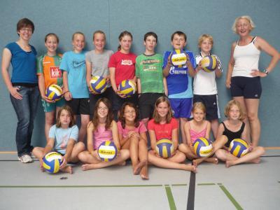 Foto zur Meldung: Volleyball-Nachwuchs in Elsdorf!