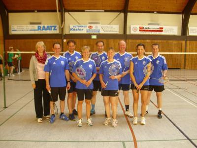 Foto zur Meldung: Auftakt am 09.09.2012 in der Badminton Kreisliga ROW Süd Saison 2012/2013