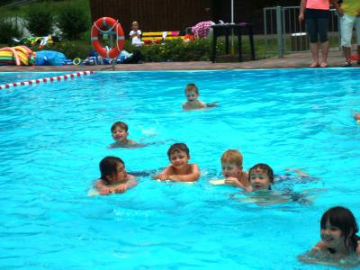 Foto zur Meldung: Schwimmlager 2014