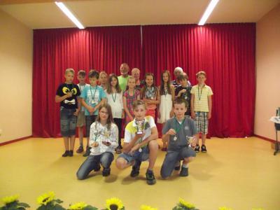 Foto zur Meldung: Schuljahresabschluss in Teupitz