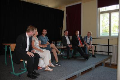 Foto zur Meldung: Fragestunde zur Landtagswahl