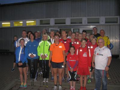 Foto zu Meldung: 2.Vollmondnacht-Lauf in Laage - Hat der Vollmond  magische Kräfte ?
