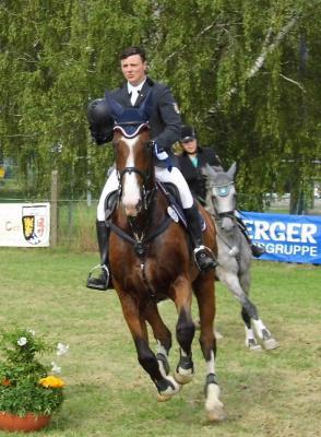 Foto zur Meldung: Florian Fischer im Großen Preis von Eichendorf