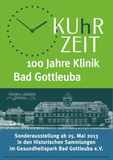 Foto zur Meldung: Sonderausstellung 100 Jahre Klinik Bad Gottleuba
