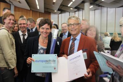 """Foto zur Meldung: Verleihung des Titels """"Europaschule"""" in Lüneburg"""