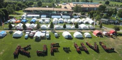 Foto zur Meldung: 22. Kreisausbildungslager der Jugendfeuerwehren