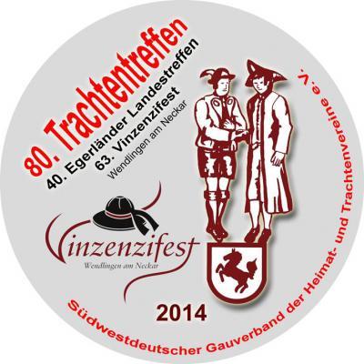Pin Vinzenzifest 2014 des SWDGV