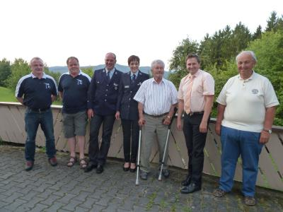 Foto zu Meldung: Ein äußerst fleißiger Tresdorfer feierte sein 80. Wiegenfest