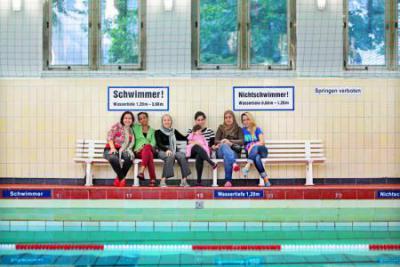 Foto zu Meldung: Der erste Teil  des 2. Schwimmkurses für Migrantinnen ist beendet – im September 2014 geht es weiter