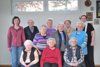 Foto zur Meldung: Seniorensport beim TuS Elsdorf – Hockergruppe unter neuer Leitung