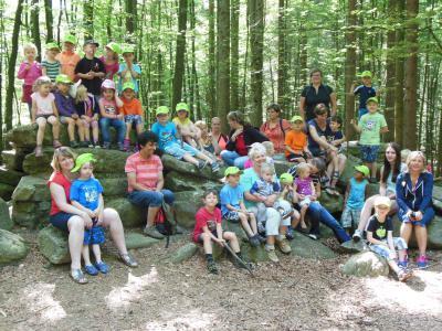 Foto zur Meldung: Jahresausflug des Kindergartens
