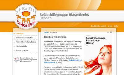 Vorschaubild zur Meldung: Neuer Internet-Auftritt  www.SHGBH.de