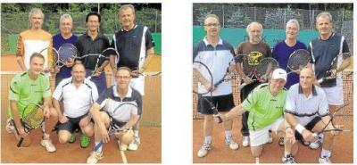 Foto zur Meldung: Tennisclub TC Grün-Weiss Aar e.V.:  Doppelter Aufstieg: Burgschwalbacher Teams spielen starke Runde