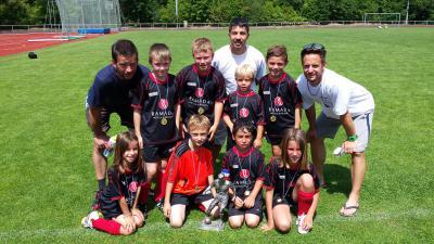 Foto zu Meldung: F-Jugend gewinnt den Cup