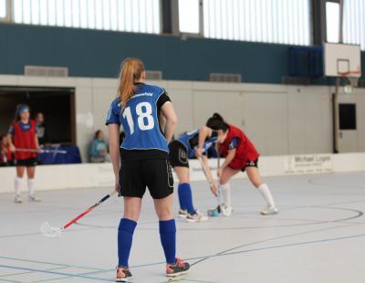 Foto zu Meldung: floorball: Spieltag der neuen Damenmannschaft